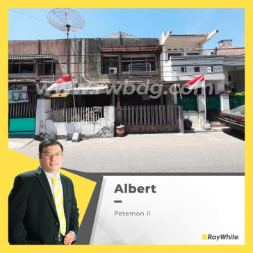 Rumah Dijual di Surabaya Pusat, Petemon II, Sawahan