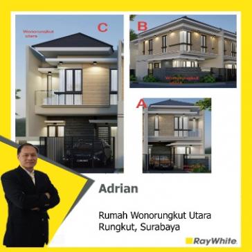 Dijual rumah baru gress Wonorungkut Surabaya
