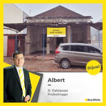 Rumah Hitung Tanah Di Probolinggo, Jl. Pahlawan, Kanigaran