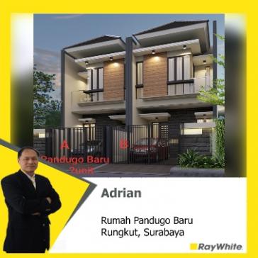 Dijual rumah baru Pandugo Baru, Surabaya
