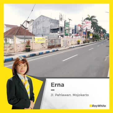 Tanah Dijual, lokasi strategis di Jl. Pahlawan Mojokerto