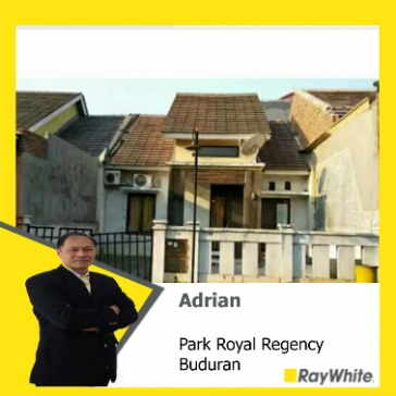 Dijual cepat rumah di Park Royal Regency, Buduran, Sidoarjo