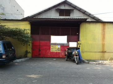 Dijual murah gudang di jl.Tambak Sawah